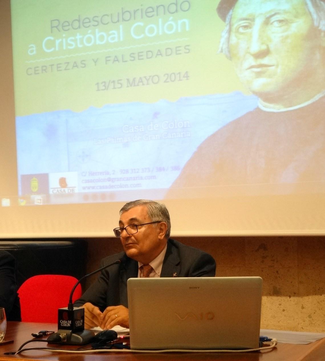 Carlos Martínez Shaw, en el seminario Redescubriendo a Colón
