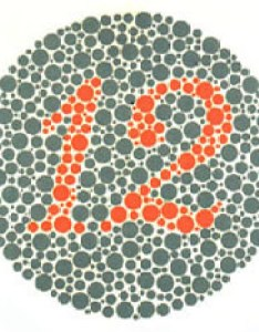 Ishihara plate of also   test for colour deficiency plates edition colblindor rh color blindness