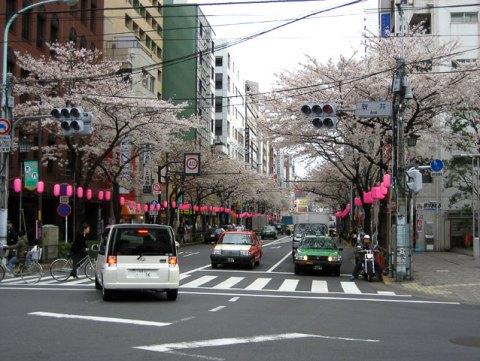 Nakano le 31 mars 2007