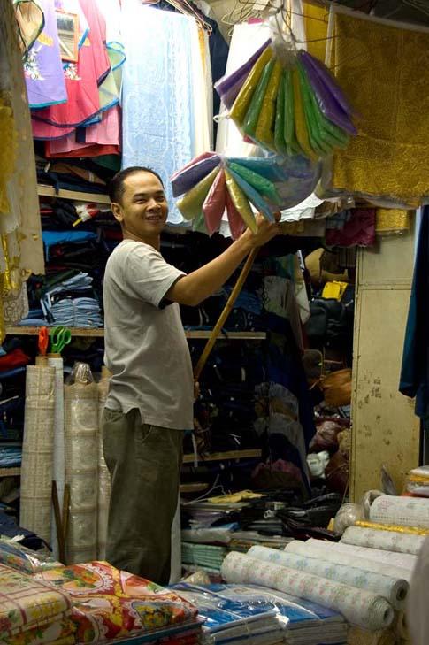 Le marché Ben Thanh, Ho Chi Minh, Vietnam