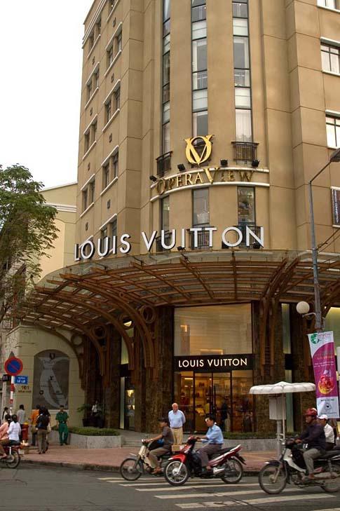 Magasin Louis Vuitton, Ho Chi Minh, Vietnam