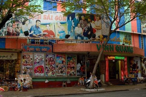 Dans les rues de Ho Chi Minh, Vietnam