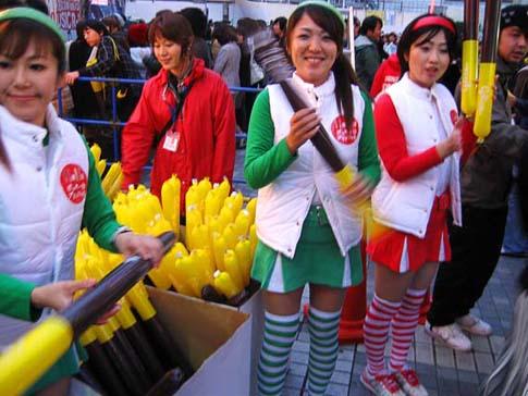 Le jour des pocky, le 11/11 à Shinjuku, Tokyo, Japon