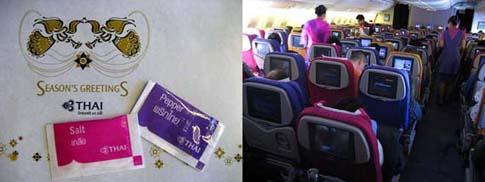 Les couleurs de Thai airways…