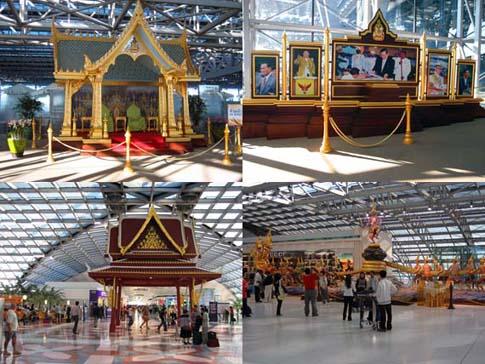 Aperçu de l'aéroport Suvarnabhumi de Bangkok