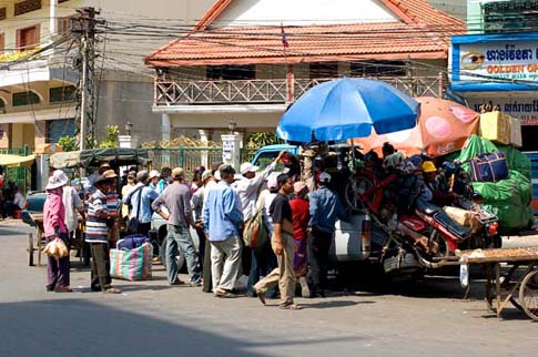 Station du bus - Bus station - Phnom Penh