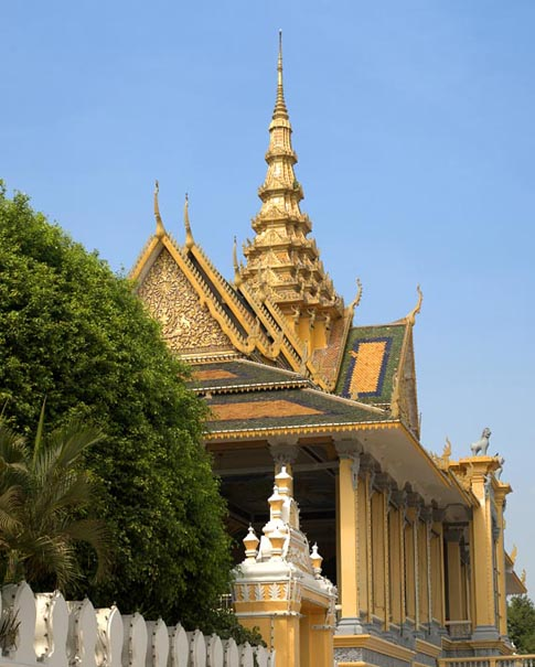 Palais royal - Royal Palace - Phnom Penh