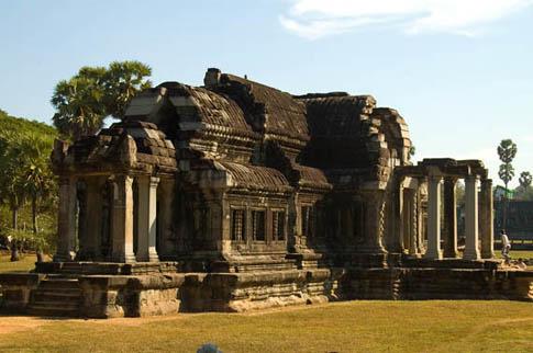 Angkor Wat - Bibliothèque - Librairy