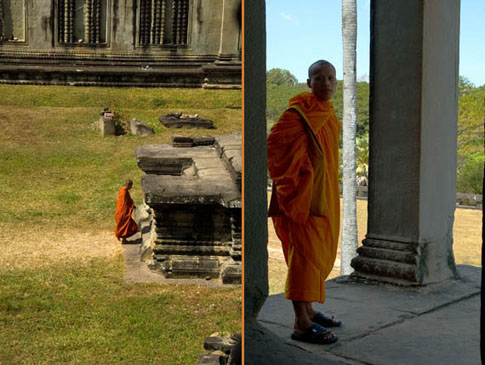 Angkor Wat - Moines - Monks