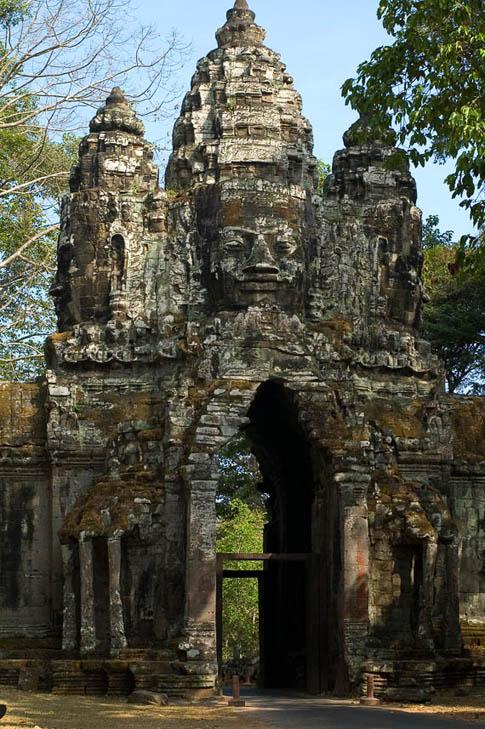 Angkor Thom - Entrée - Entrance