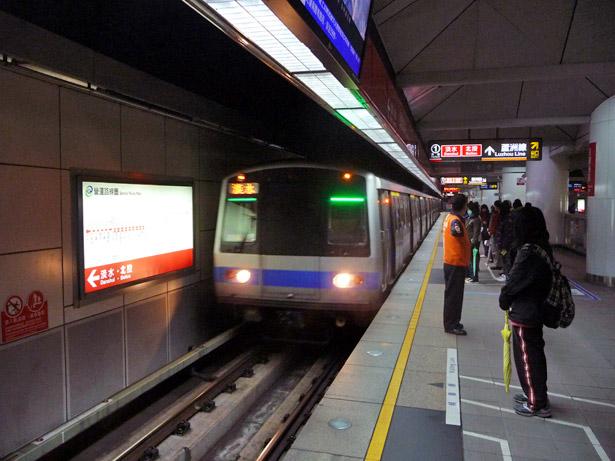 Metro de Taipei - Station Minquan west road