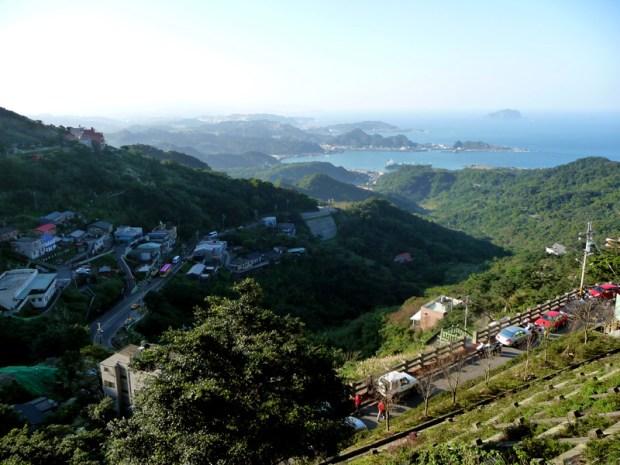 Vue depuis Jioufen