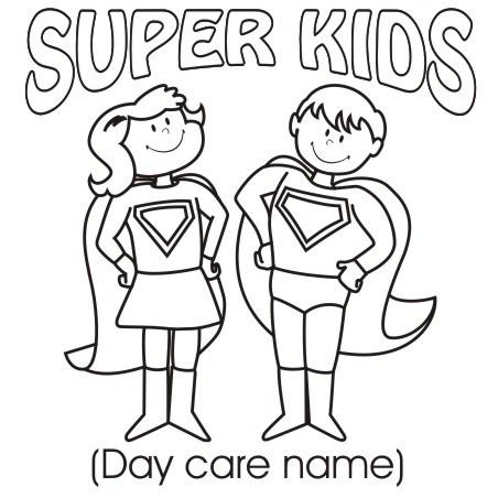 Clipart & Design Ideas: Clipart » Day Care » Super Kids