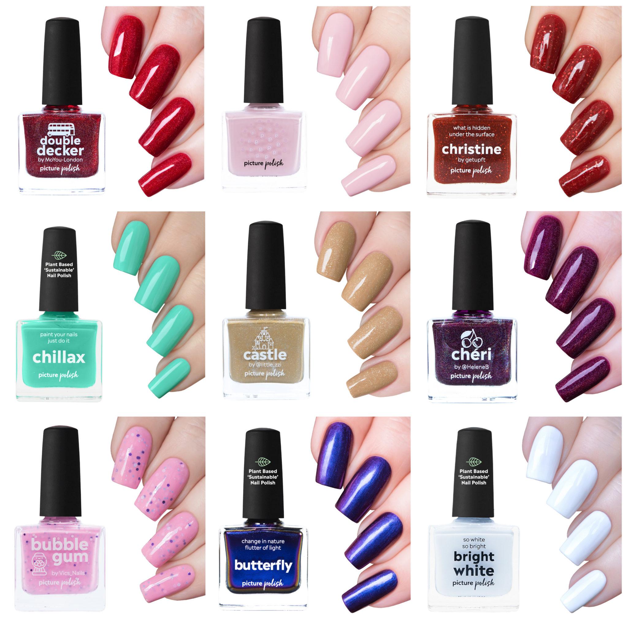 Picture Polish nail polish collage