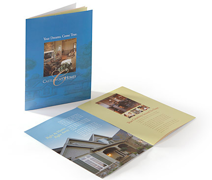 Brochures & Collateral Material Color 9 Creative