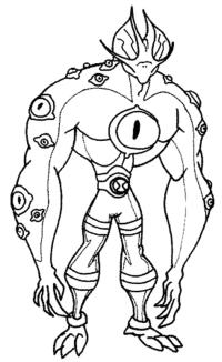 Ben10 - Milleocchi e i suoi muscoli