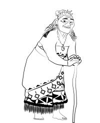 Oceania - Tala la nonna paterna della principessa Vaiana