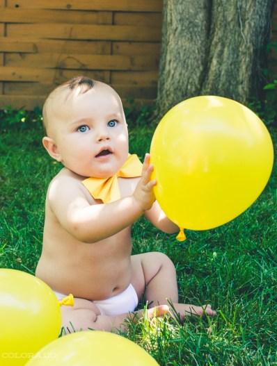 baby teddy 1 year bowtie
