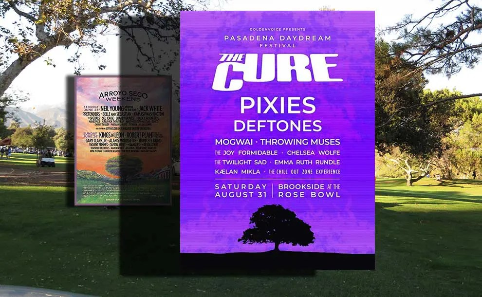 Arroyo Seco Music Festival 2020.A New Music Festival In Pasadena Headlined By The Cure
