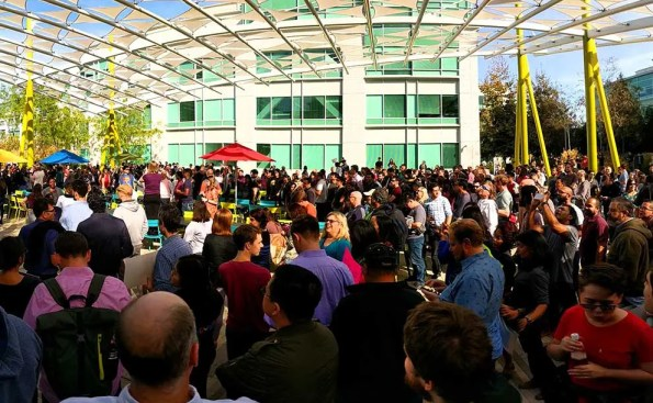 Google employees outside of the headquaters