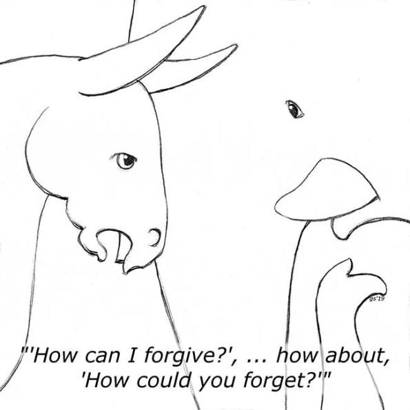 a unicorn talking