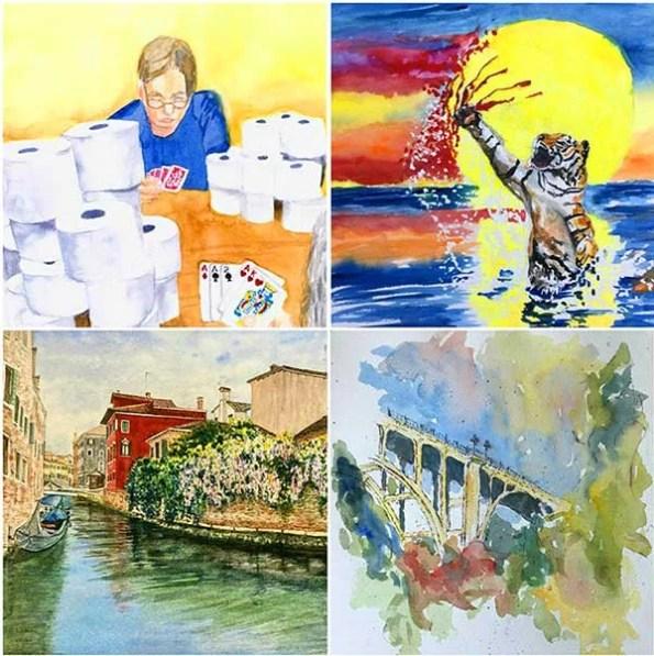 Pasadena Senior Center Art Exhibition Goes Virtual
