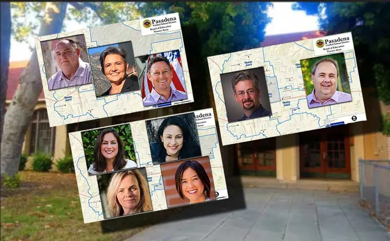 photos of 2020 PUSD candidates
