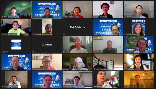 San Gabriel Valley's Asian American Speech Contest