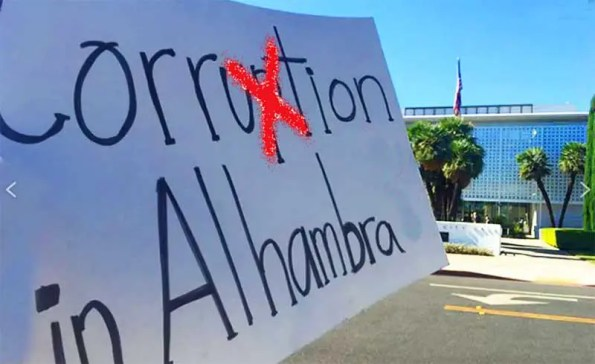 Corrupt Alhambra Politicians Do Not Want Measure V to Pass!