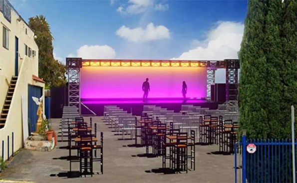 Fountain Theatre To Install Outdoor Stage During Pandemic