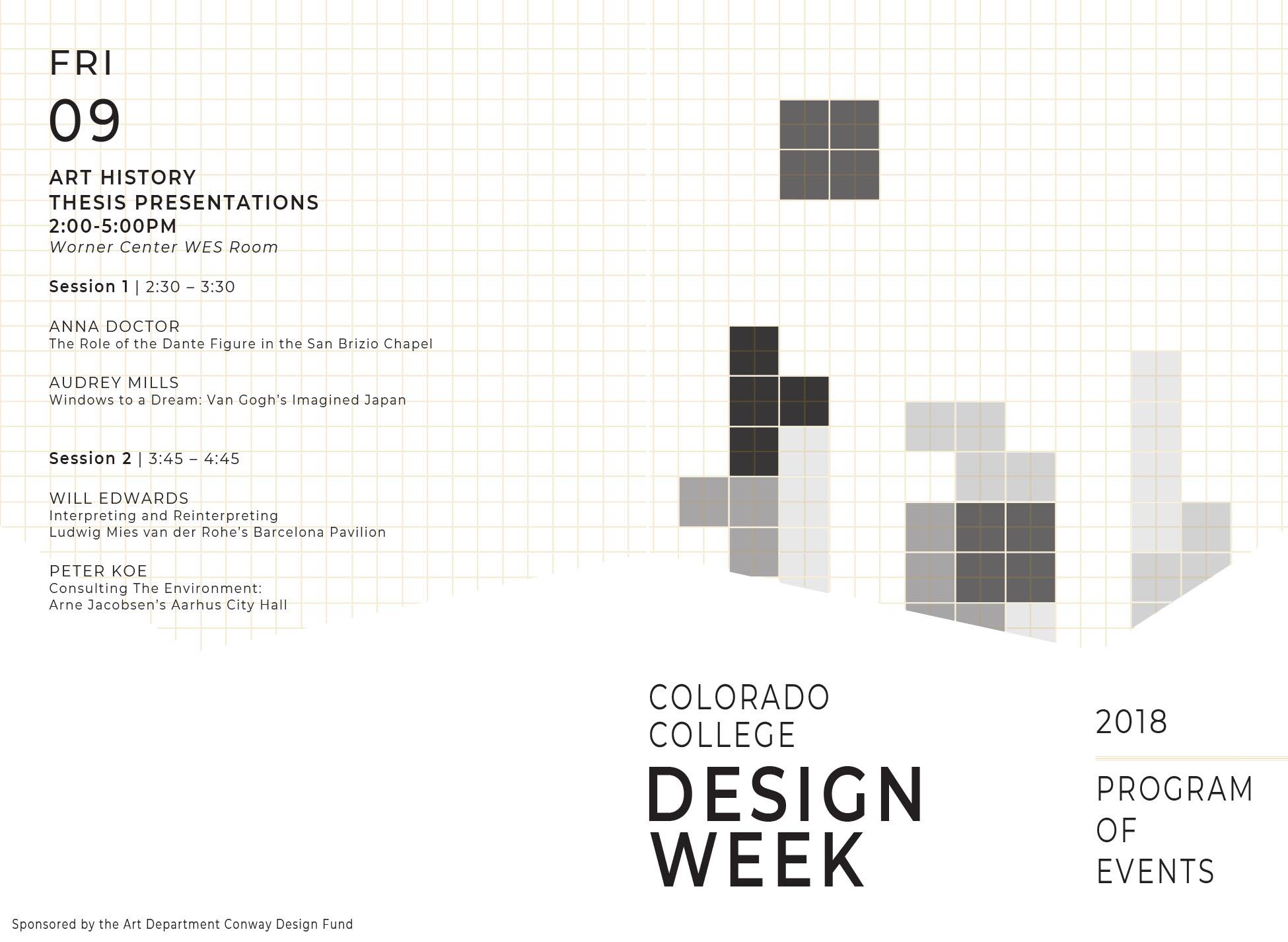 Design Week 2018 • Art Colorado College