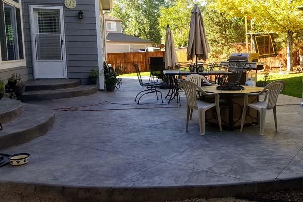 stamped concrete denver affordable