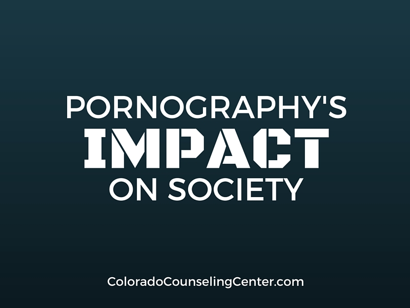 Pornography's EffectsOn Society