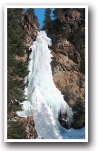 Pagosa Springs Hiking Trails Map  Colorado Vacation Directory