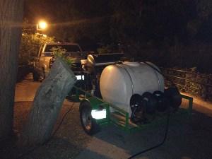 Denver Zoo Pressure Washing Rig