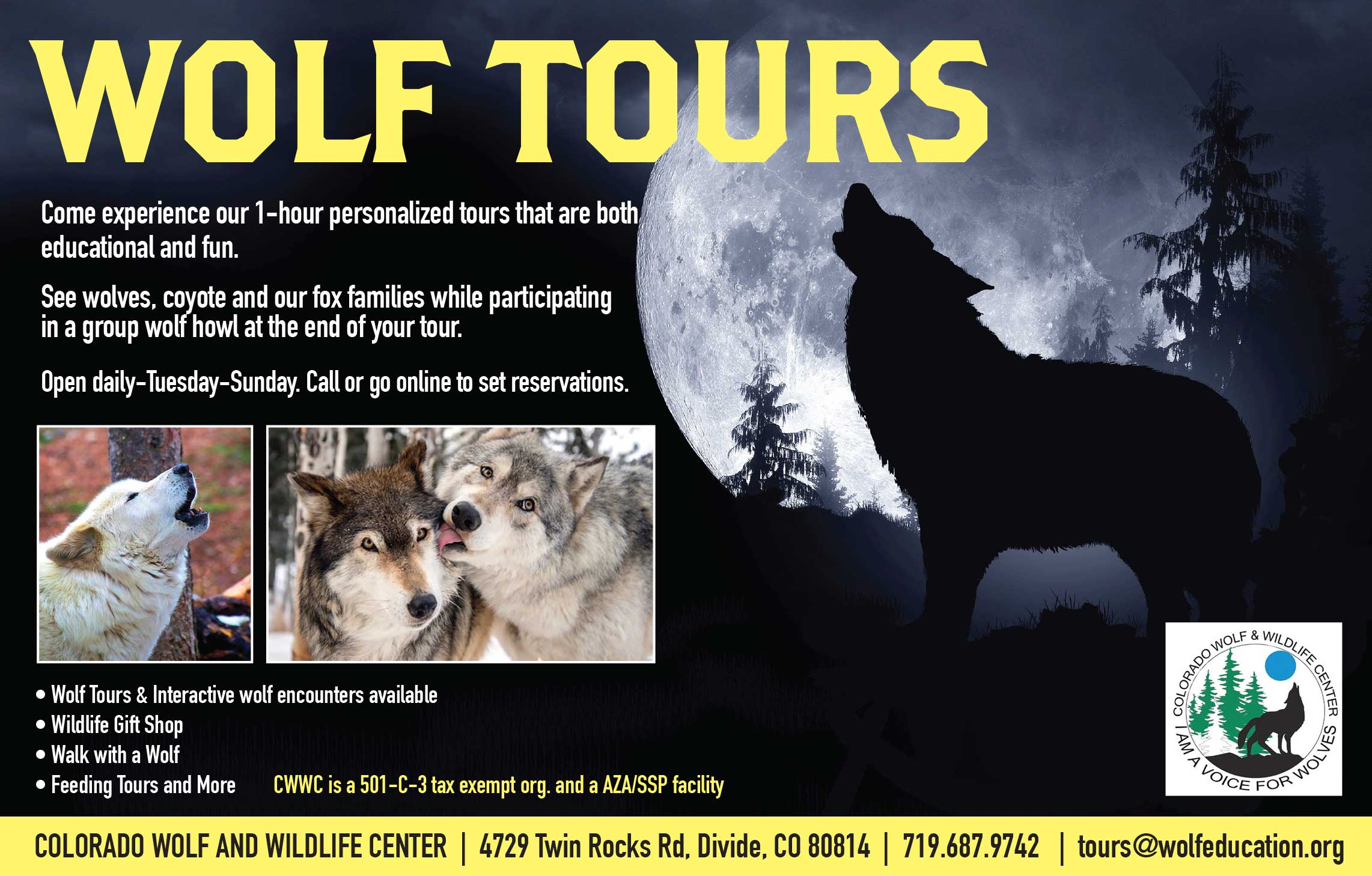 Wolf Tours