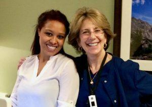 Amelia Martinez and her mother, Rochelle Ravishankara