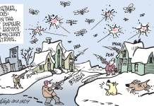 Guns, quadcopters, Christmas