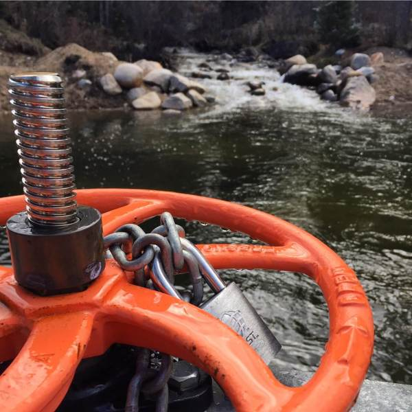 Most of Colorado's water has been tamed by vast system of dams, reservoirs and pipelines, controlled not by nature, but by valves like this one, used to divert water from Straight Creek to the town of Dillon.