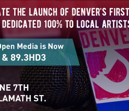 6/7/19 – Denver Open Media 92.9 FM / 89.3HD3 Launch Party