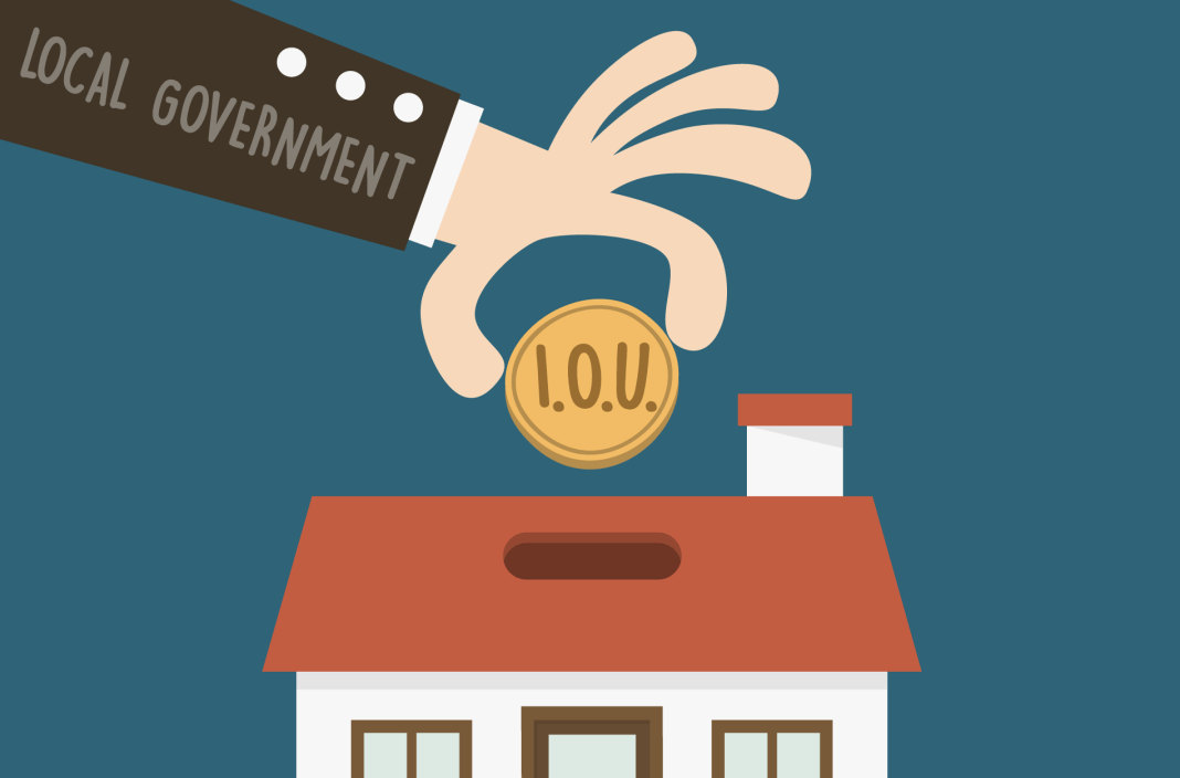 I.O.U. from the government