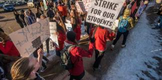 South high school denver DPS public schools strike