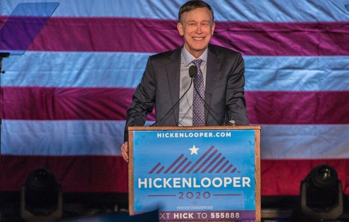John Hickenlooper is running for U.S. Senate
