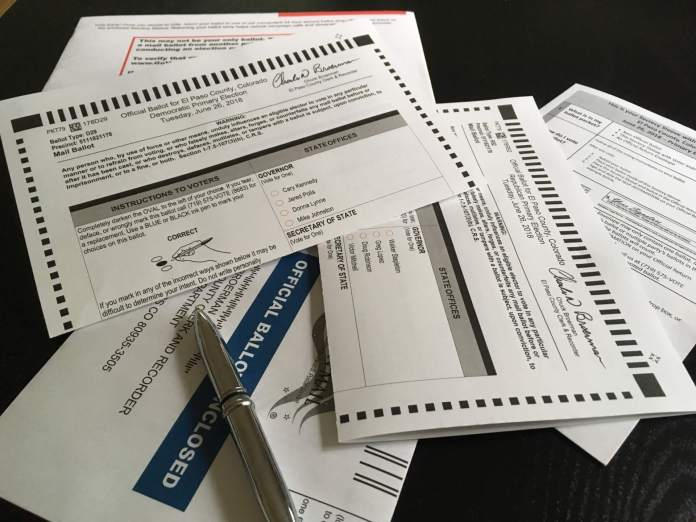 Trail Marker Ballots Are Out For Colorados June 26 Primary Nearly