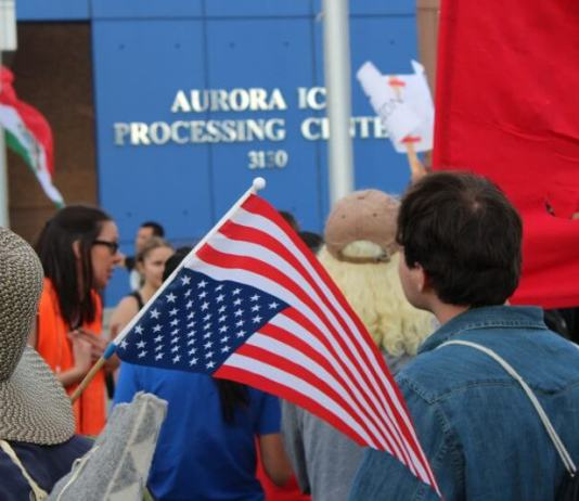 Guest Post: Who among us is proud to fly an American flag over a concentration camp?