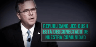 People United for the American Way Jeb Bush ad