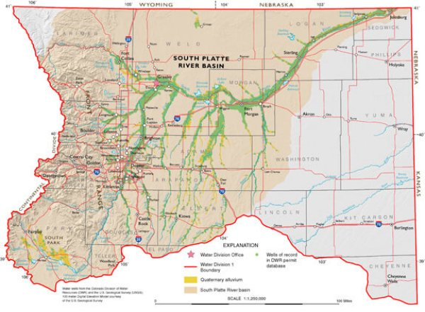 The thirtsy South Platte Basin, with a rapidly growing population, is one of the biggest pieces in Colorado's water planning puzzle.