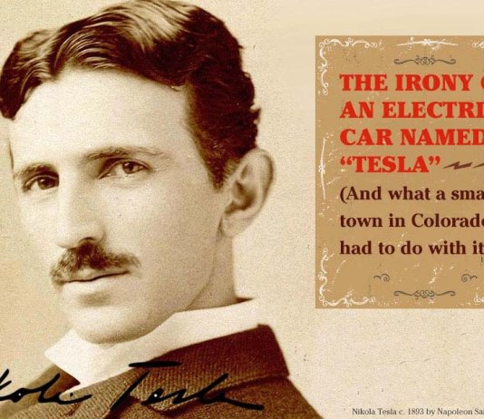 """The Irony of an Electric Car Named """"Tesla"""""""