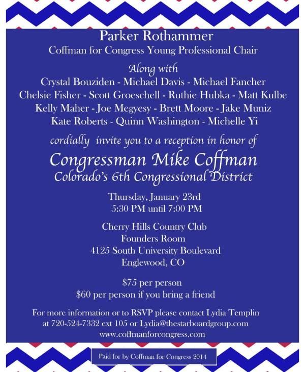 coffman Invitation