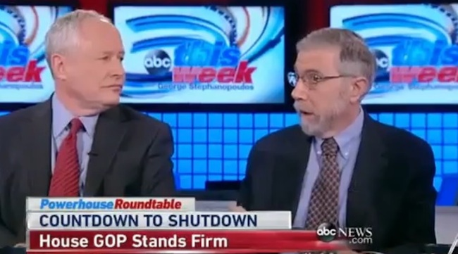 krugman kristol